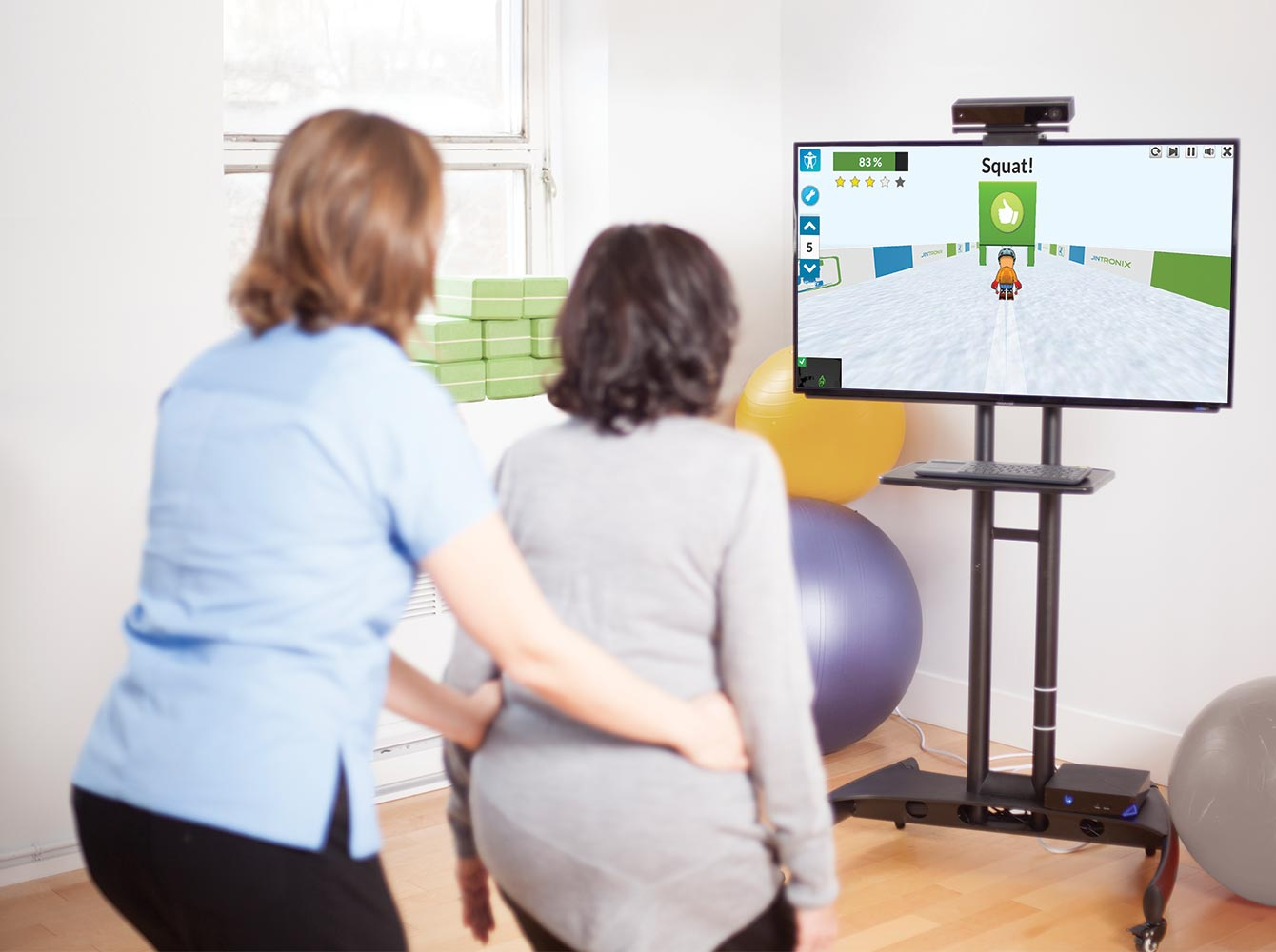 jintronix virtual technology in physical therapy